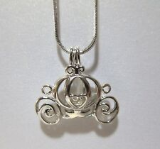 Pick A Pearl Cage Carriage Silver Charm Disney Princess Cinderella OC CHARM ONLY
