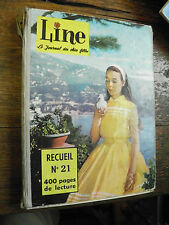 line le journal des chics filles - recueil n° 21  1960