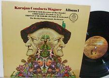 Karajan Conducts Wagner Album1 Berlin Phil. NM Angel R-133766