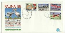 A FDC FROM THE NETHERLANDS ANTILLES 1985 'BIRDS'