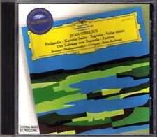 Hans ROSBAUD: SIBELIUS Finlandia Karelia Tapiola Valse triste Swan of Tuonela CD