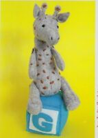 PATTERN - G is for Giraffe - cute softie/toy PATTERN - Ric Rac