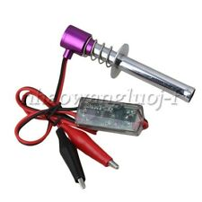 Purple 6V -24V Electronic Glow Plug Starter Igniter for All RC Car Ratio