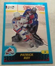 2001-02 Topps Chrome Montreal Canadiens Patrick Roy #47 HOF