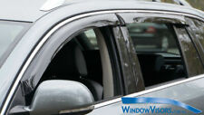 Window Visors WeatherShields 4pcs weather shields for Holden Astra Wg 2004-2010