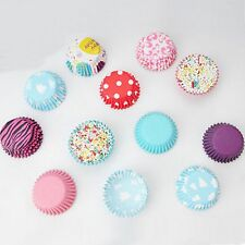 Bun Colorful Muffin Wrapper 100PCS Liners Cases Mini Cupcake Cake Baking Paper