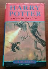 Harry Potter and the Goblet of Fire 1st UK Omnia Books 2000