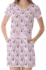 Eiffel Tower With Hearts Women Splicing With Pockets Dress b7 acc02517