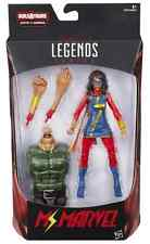 MARVEL LEGENDS SPIDER-MAN SERIES MS MARVEL KAMALA KHAN FIGURE BAF SANDMAN