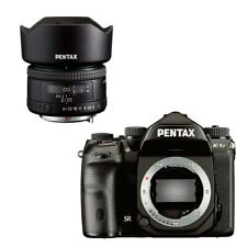 Pentax K-1 II Digital Full Frame SLR Camera with HD FA 35mm F2 Lens