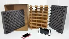 LOT OF 2 - Cell Phone Smartphone Electronics Shipping Storage Box Kit Holds 48