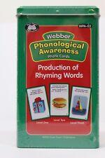 Super Duper Phonological Awareness Production of Rhyming  Words In Sentences HSL