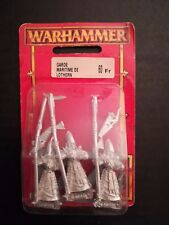 LOTHERN SEA GUARD x3 WARHAMMER METAL HIGH ELF AELF