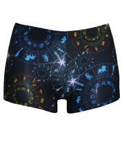 Women's Astrology Horoscope Star Sign Zodiac Symbols Printed Shorts Hot pants