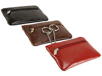 Visconti Unisex Keyring Leather Wallet Purse, Key Holder Case Coin Pouch - MZ19