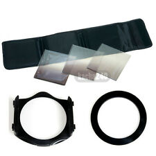 Gradual ND2 4 8 filter+ Pouch Case+ 58mm Adapter Ring+Holder for Cokin P Series