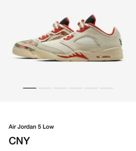 NIKE AIR JORDAN 5 RETRO LOW CNY CHINESE NEW YEAR Size 11 Confirmed Order