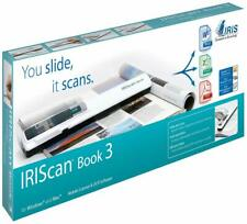 IRIS 457888 IRIScan Book 3 Portable 900 dpi Color Scanner New