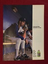 Chicago Cubs Greg Maddux for Gatorade 1990 Ad/Poster Ad