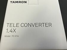 New TAMRON TELE CONVERTER 1.4x for Nikon TC-X14N For SP 150-600mm G2 A022 JAPAN