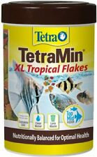 Te-tra Large Tropical Flakes For Top or Mid Feeders, 5.65-Ounce