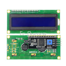 IIC/I2C/TWI/SP�€‹�€‹I Serial Interface1602 16X2 Character Blue LCD Module Display