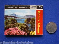 Scottish Highlands Set 3  Souvenir miniature Postcard Booklet  1970s