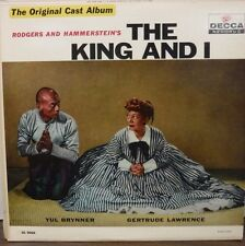 Orig. Cast Album The King and I DL9008 Yul Brynner Gertrude Lawrence   112016LLE
