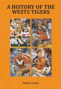 Rugby League Book - A History of the Wests Tigers