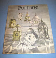 FORTUNE JANUARY 1948 RALSTON PURINA UNILEVER AFRICA WEBB'S CITY FLORIDA