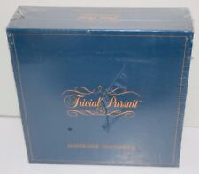 Vintage 1981 Original Trivial Pursuit Master Game Genus Edition SEALED NEW