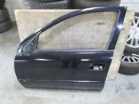 GENUINE 2004 Holden  Astra TS CD Ei1.8L 2000-2004 4D LHF DOOR SHELL BLACK, Z20R