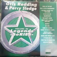 LEGENDS KARAOKE CDG OTIS REDDING & PERCY SLEDGE R&B SOUL #36 16 SONGS CD+G