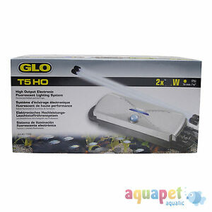 GLO Electronic Twin Bulb T5HO High Output Electronic Fluorescent Lighting System