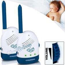 BABY MONITOR PHONE WIRELESS 200MT BABYPHONE INTERFONO AUDIO X CONTROLLARE BIMBO