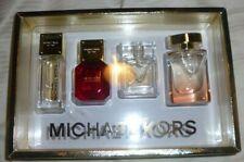 Michael Kors Miniature Coffret set of four: Amber + Sexy Ruby Wonderlust - New
