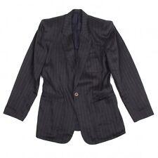 Jean-Paul GAULTIER HOMME Stripe Jacket Size 48(K-46014)