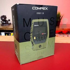 Compex Edge 2.0 Muscle Stimulator with TENS Bundle Kit