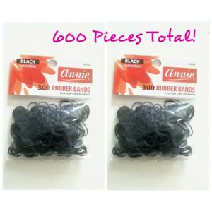 Annie 600 Rubber Bands ( 2 packs of 300)