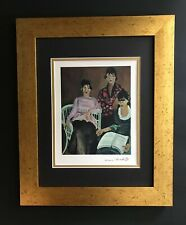 HENRI MATISSE ORIGINAL 1948 AWESOME SIGNED PRINT MATTED 11 X 14 + LIST  $495