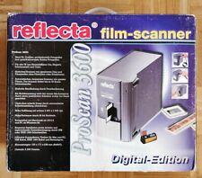 Reflecta ProScan 3600 Film-, Diascanner in OVP - ganze Filmrollen autom. scannen