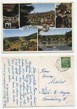 18525 - St. Georgen im Schwarzwald - Ansichtskarte, gelaufen 2.9.1957