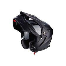 Casco modulare Scorpion ADX-1 Nero opaco moto enduro touring adventure tg. S