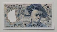 Frankreich, 50 Francs 1989, WPM: 152d, Erh. II, leicht gebraucht