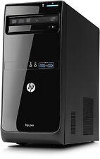 Fast HP Desktop PC Computer Intel Dual Core 8GB 2TB HDD WiFi Windows 7 Pro Tower