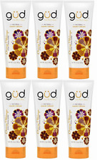 6 Pack Gud Natural Hand Cream Orange Petalooza 3 Oz