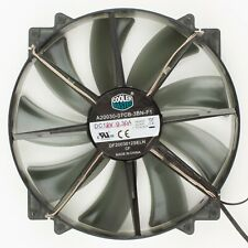 Cooler Master | 200mm Refurbished Clear Black 3+2-Pin Fan Blue LED DF2003012SELN