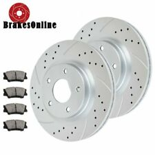 Drilled Slotted Front Brake Rotors Pads for Nissan Altima 2014 2015 2016 Brakes
