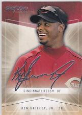 KEN GRIFFEY JR. AUTOGRAPH ICS Skybox Baseball Sigs REDS Card Seattle Mariners LE