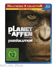 PLANET DER AFFEN: PREVOLUTION (James Franco, Freida Pinto) Blu-ray Disc NEU+OVP